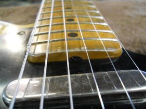 Custom Guitar Aging Finishes