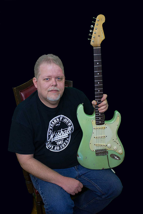 Custom Guitar Builder, Scotty Huffman of Huffman & Co. Custom Guitars