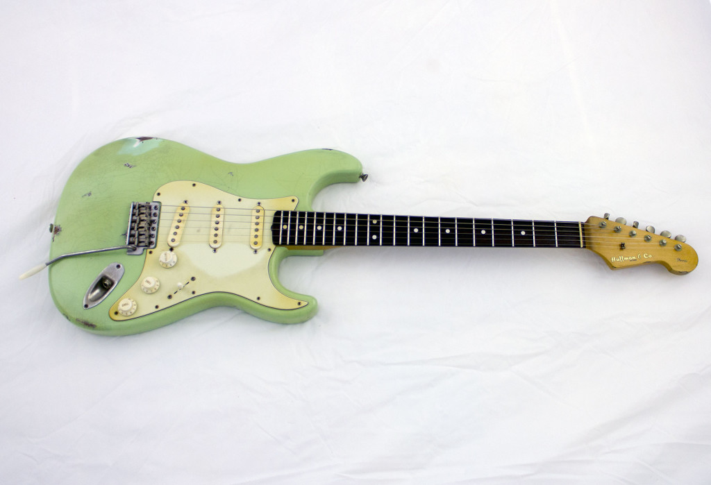 Surf Green Texas Standard Custom Guitar