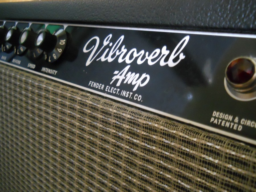 How to choose the right guitar amplifier: Pictured is a Fender Vibroverb
